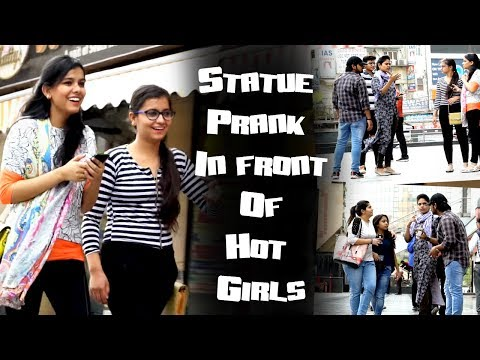 Statue Prank In Front Of Hot Girls || Best Funny Statue Pranks 2017 || Ak Pranks Video