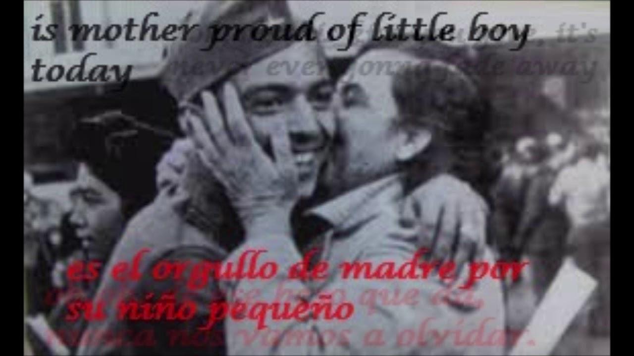 letra de cancion enola gay en español