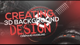 Cinema4D/Photoshop Tutorial | Creating 3D Modeled Backgrounds