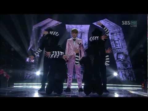 양요섭 of BEAST (Yoseop) [카페인 (Caffeine)] @SBS Inkigayo 인기가요 20121223