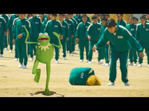 Kermit in Squid Game