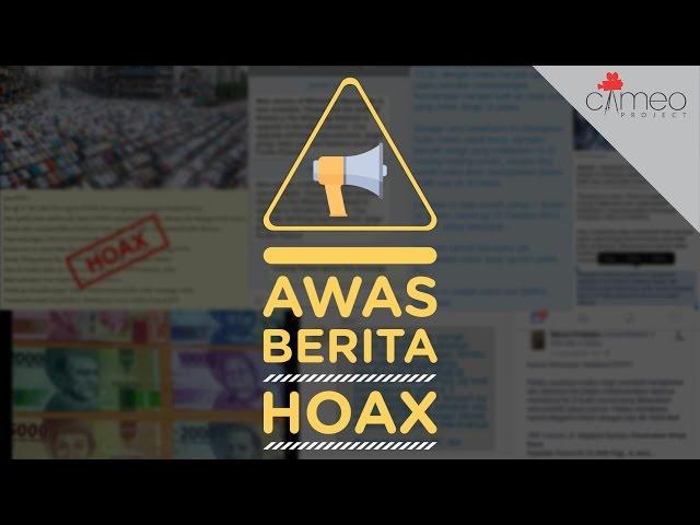 AWAS HOAX!
