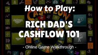 How to play Cashflow 101 Online Game Walkthrough. Rich Dad Poor Dad Robert Kiyosaki