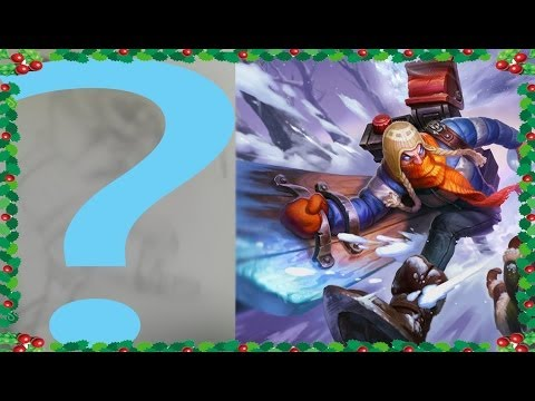 My Friend Drawing Champions He Has Never Seen - Ep 8 Snow Day Singed - League of Legends