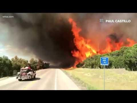 Palo Pinto fire triples in size