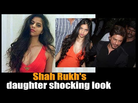 Shah Rukh Khan with his stunning daughter Suhana Khan || Arth restaurant opening || #ShahRukhKhan