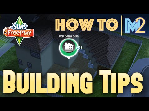 Sims FreePlay – DIY Homes Update Building Tips (Tutorial & Walkthrough)