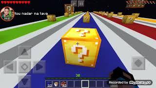 Batalha Lucky block fada