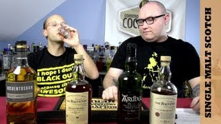 Scotch Tasting, Education and Review, Single Malts