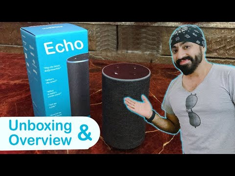 Unboxing & Overview of the Amazon ECHO (2nd GEN) Alexa Smart Speaker