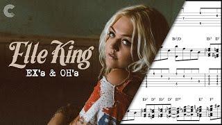 Flute - Ex's & Oh's - Elle King - Sheet Music, Chords, & Vocals