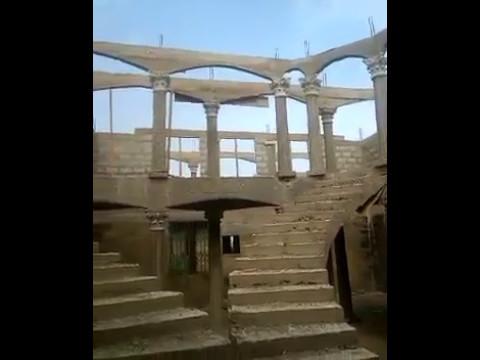BUILDING HOUSE IN GHANA - LENTIL COMPLETED