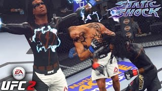 Static Shock Has A Powerful Right Hand - Shock To Your System! EA Sports UFC 2 Online Gameplay