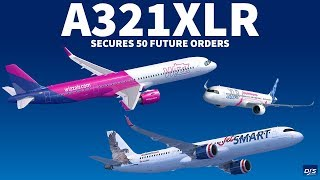 airbus secures 50 orders for a321xlr