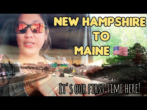 PART⁵ DELIVERY IN NEW HAMPSHIRE 🇺🇸 | TO MAINE 🇺🇸 | @PINOY TRUCKER ALBERTA 🇨🇦