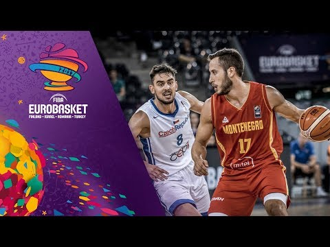 Czech Republic v Montenegro - Highlights - FIBA EuroBasket 2017