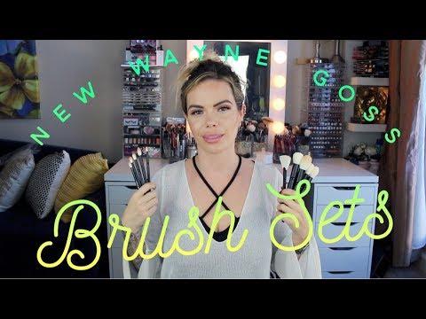 Wayne Goss Brushes | New Face & Eye Sets vs Original