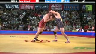 65 KG Finals - Brent Metcalf (NYAC/Hawkeye) vs. Kellen Russell (NYAC/MRTC)