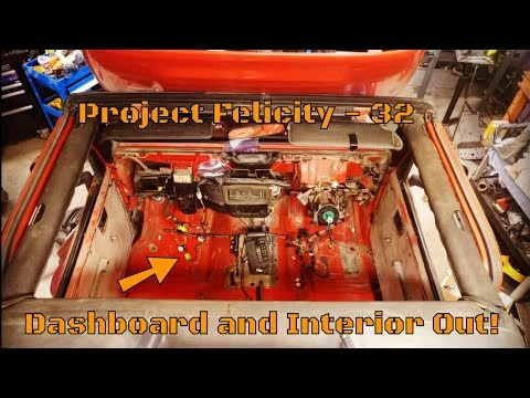 TJ Wrangler Dashboard And Interior Removal [Felicity - 32]
