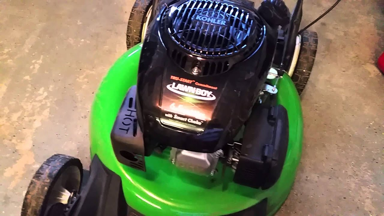 Lawnboy 21 Inch Self -propelled Mower Review