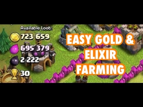 #3 How To FARM GOLD & ELIXIR TH7 | Clash of Clans |