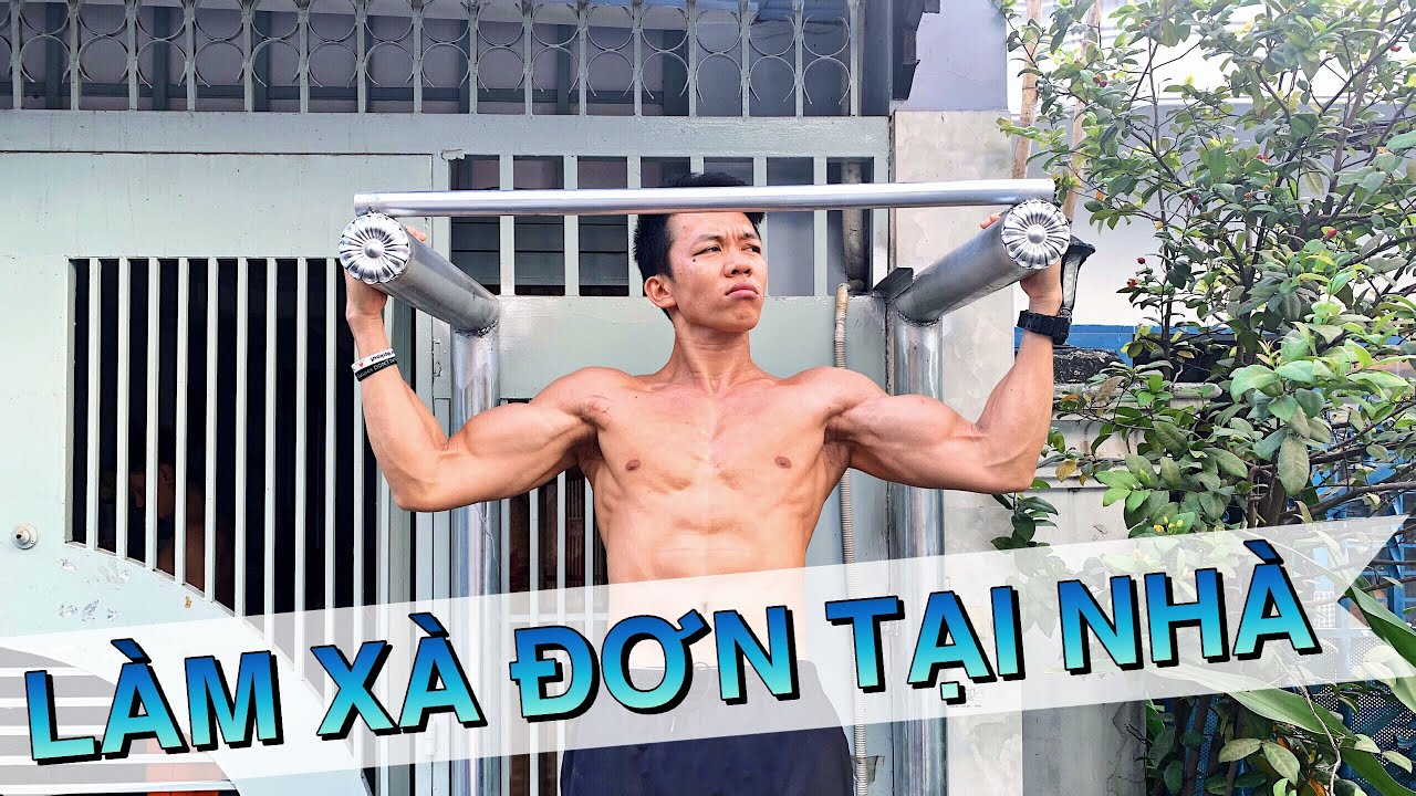 Cách LÀM XÀ ĐƠN TẬP TẠI NHÀ - Làng Hoa Workout.