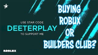 """NEW ROBLOX CREATOR CODES!   HELP SUPPORT BY USING CODE """"DEETERPLAY"""" WHEN BUYING ROBUX OR BC"""