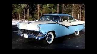 1956 Ford Fairlane Tudor Victoria - For Sale