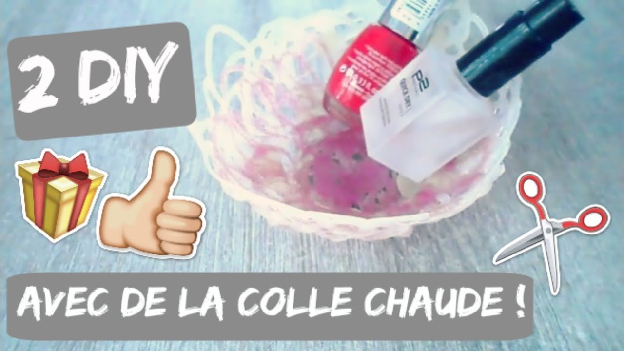 2 diy avec un pistolet colle infos youtube - Diy pistolet a colle ...