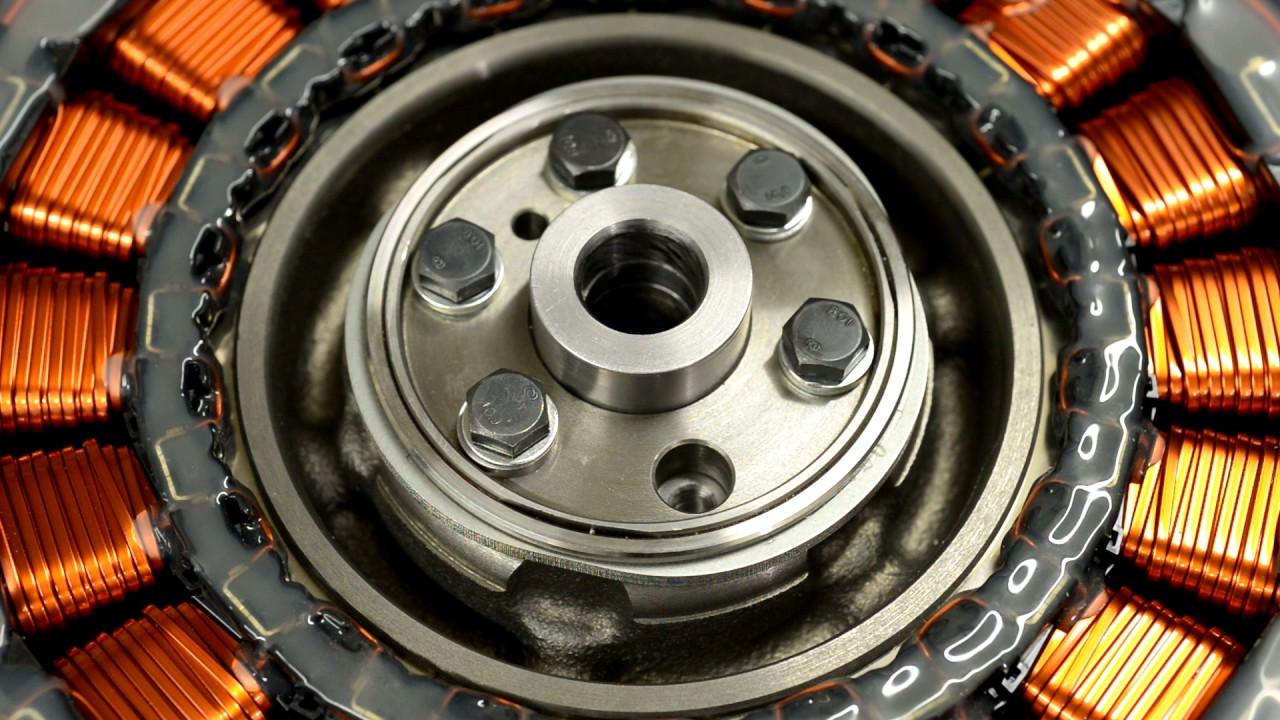 Testing Honda Civic Ima Electric Motor