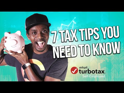 7 TAX TIPS YOU NEED TO KNOW! (SELF EMPLOYMENT TAX TIPS 2019)
