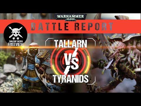 Warhammer 40,000 Battle Report: Tyranids Vs Tallarn 1500pts