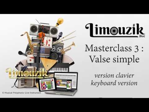 Masterclass 3 : valse simplifiée (version clavier / keyboard)
