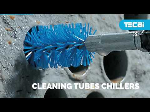 PROTUB. Cleaning equipment for chimneys and chiller tube