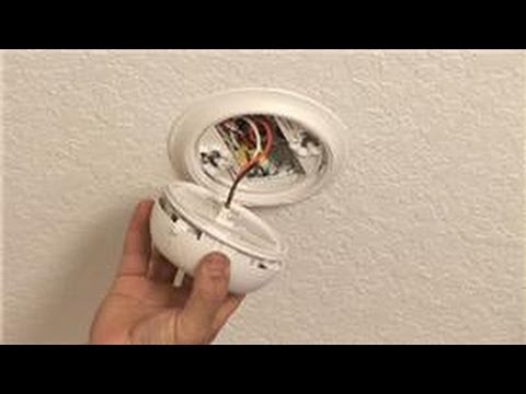 & Household Electrical Wiring : How to Wire Smoke Alarms - YouTube