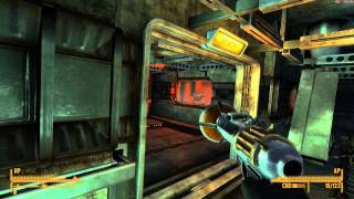 Fallout NV Lonesome Road Walkthrough Part 3: Opening up the Missile Silo Bunker (in 1080p HD)