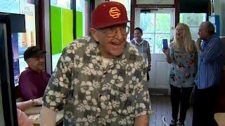 Doughnut Shop Surprises WW II Vet With 99th Birthday Party