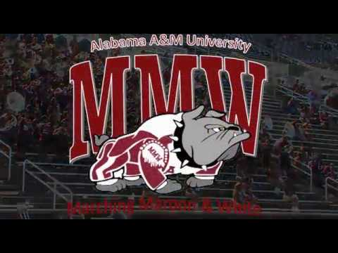 Aamu Marching Maroon White Fan Day Say Sum
