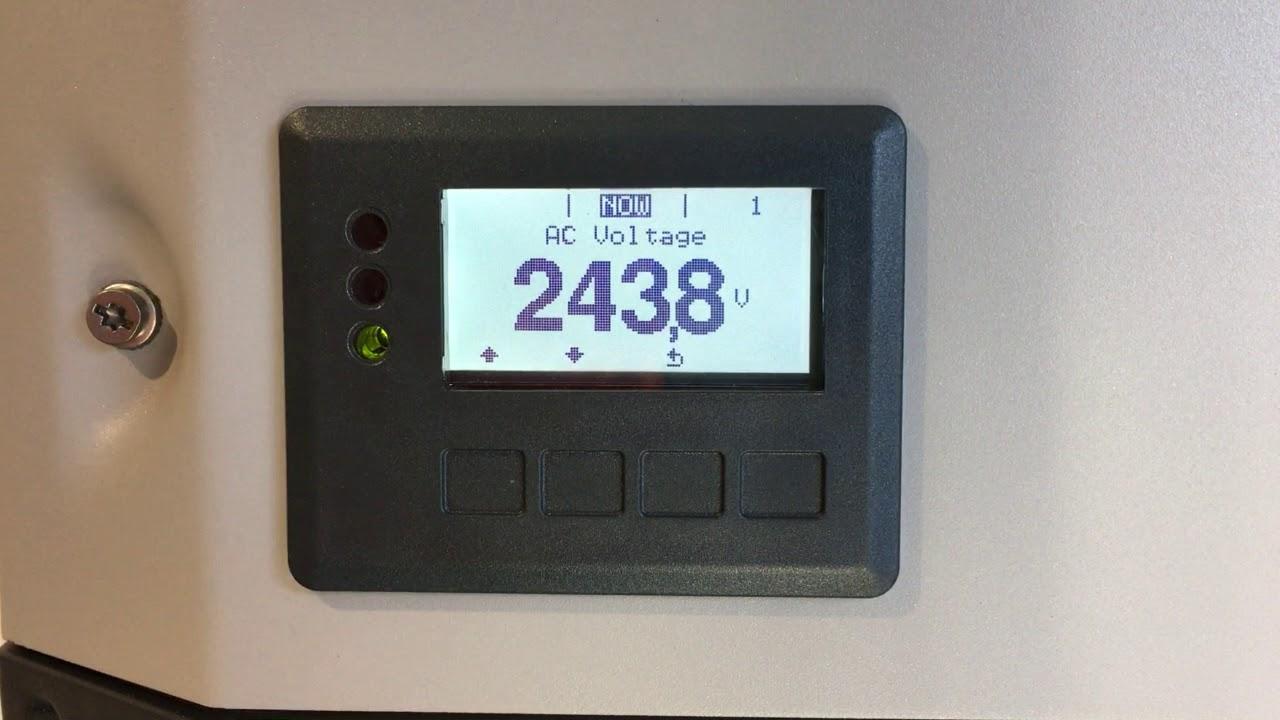 How To Check Ac Voltage On Fronius Galvo Primo Symo Inverters Inverter Micro Rack Mount Youtube Solar Diagram