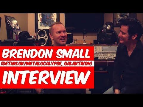 Brendon Small Interview Dethklok Metalocalypse Galaktikon