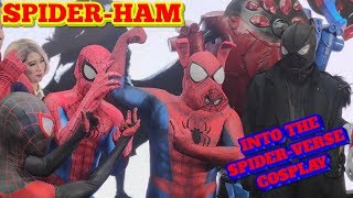 Introducing Spider-Ham!  Into the Spider-Verse cosplay
