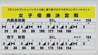 『グリコセブンティーンアイス杯 』 第7回プロアマボウリングトーナメント・決勝 thumbnail