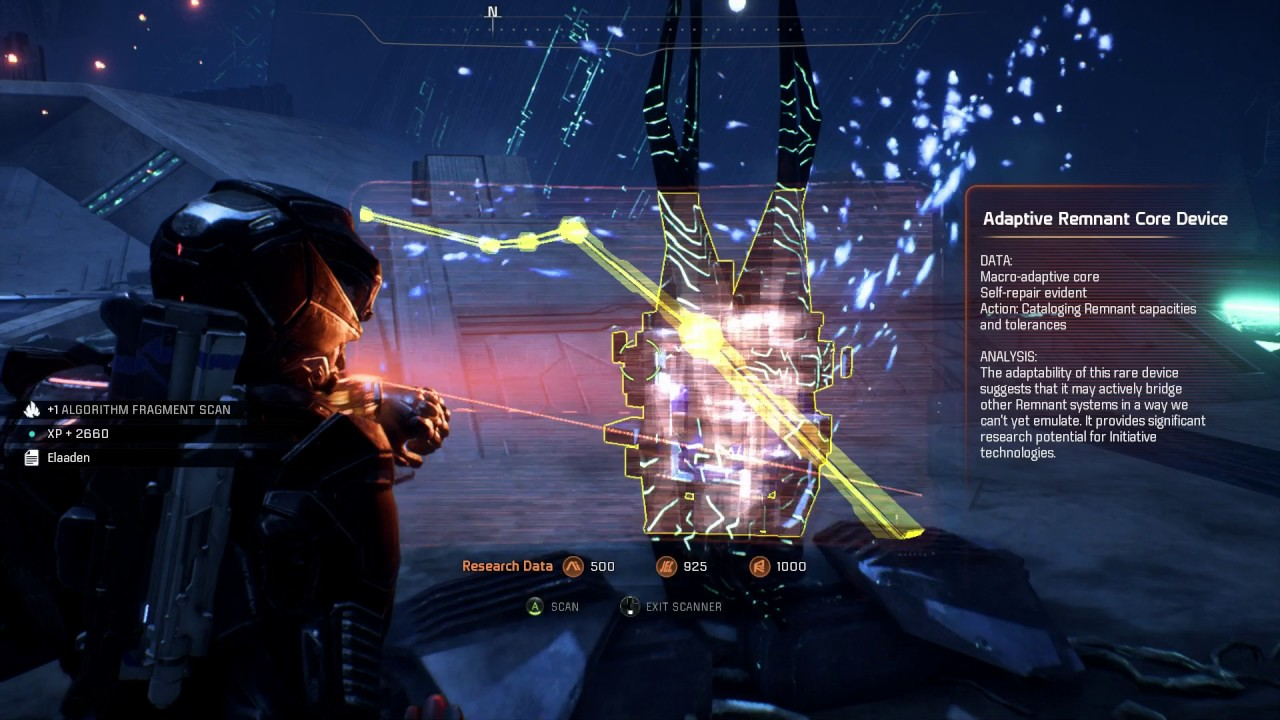 Mass Effect Andromeda Elaaden Vault Escape The Purification Field