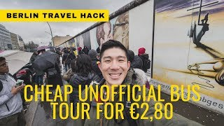 Cheap Unofficial Berlin Bus Tour For €2,80 | Going Awesome Places