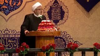الشيخ محمد كنعان - شخص يسأل الإمام موسى الكاظم ع بعد شهادة الإمام جعفر الصادق ع: أعليك إمام