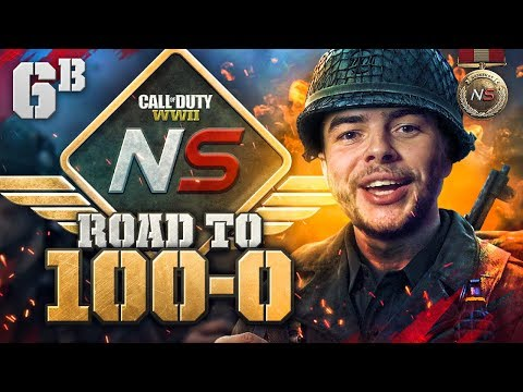 Road to 100-0! - Ep. 6B - HOW DID HE DO THAT! (Call of Duty:WW2 Gamebattles)