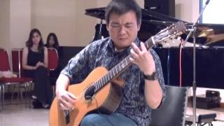 "Michael Gunadi plays ""Torne a Sorrento"" & ""O Solemio"" on Solo Guitar"