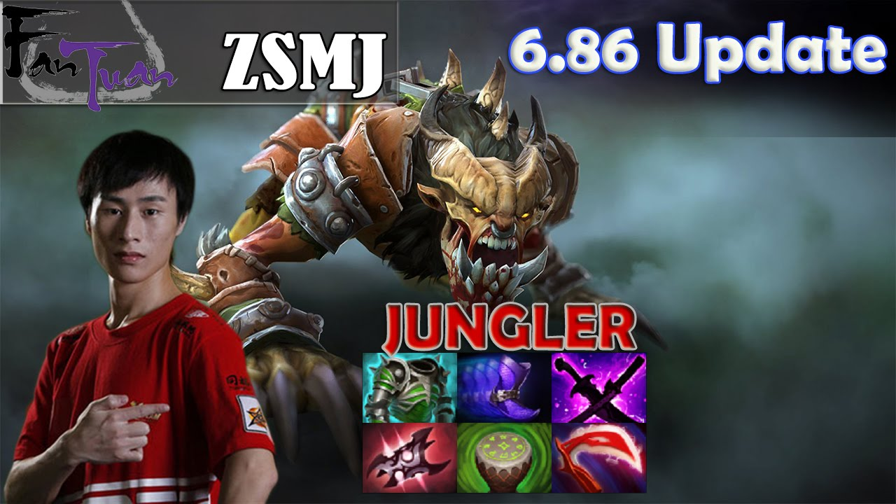 zsmj lifestealer jungler pro gameplay dota 2 mmr youtube