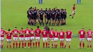 New Zealand U20s challenge Wales with incredible Haka