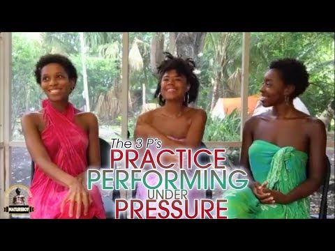 The 3 P's: Practice Performing under Pressure with Mother Eliana, Mama Willow & Mama Sheeba